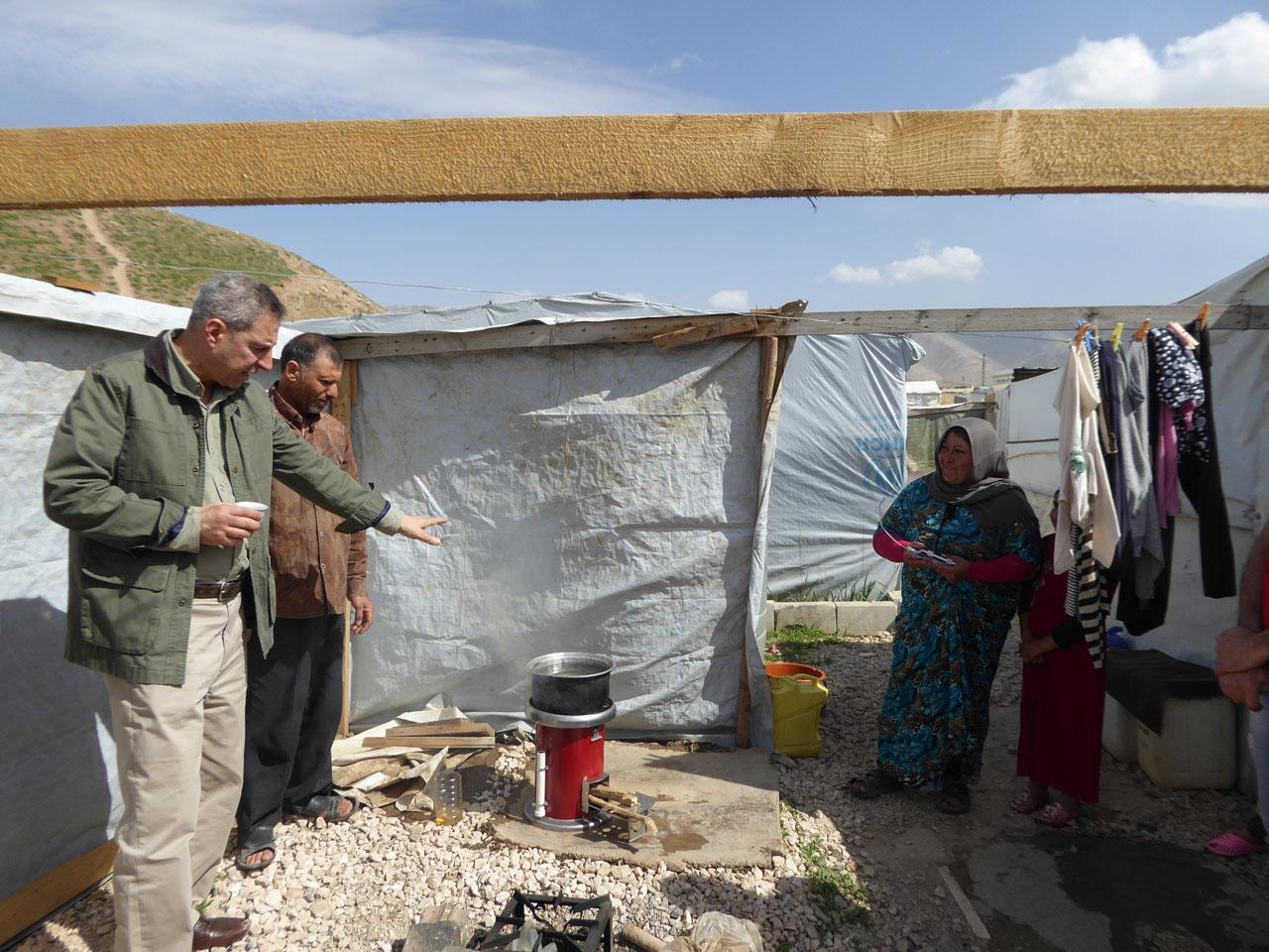 selim bassoul refugee camp lebanon